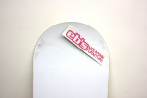 eb's MOUNTAIN FURNITURE STICKER