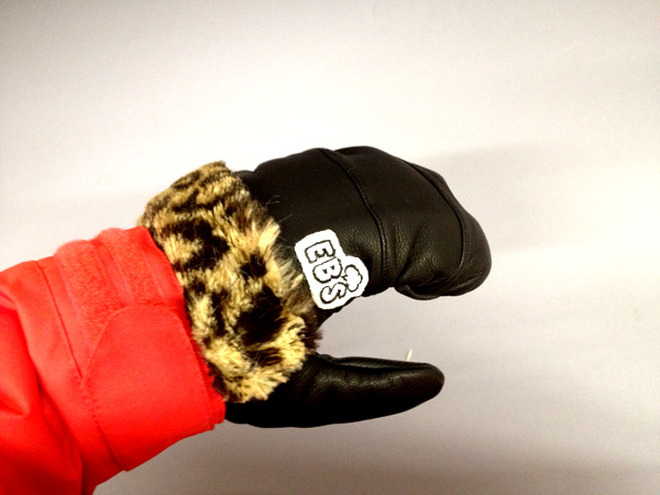 eb's THE-MITT-LEOPARD-FUR