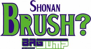 SHONAN BRUSH BAGJUMP-LOGO